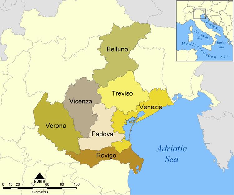 Veneto Regione Cartina.In Veneto La Geotermia E In Fase Di Sviluppo E La Regione Regola Il Settore Cosvig